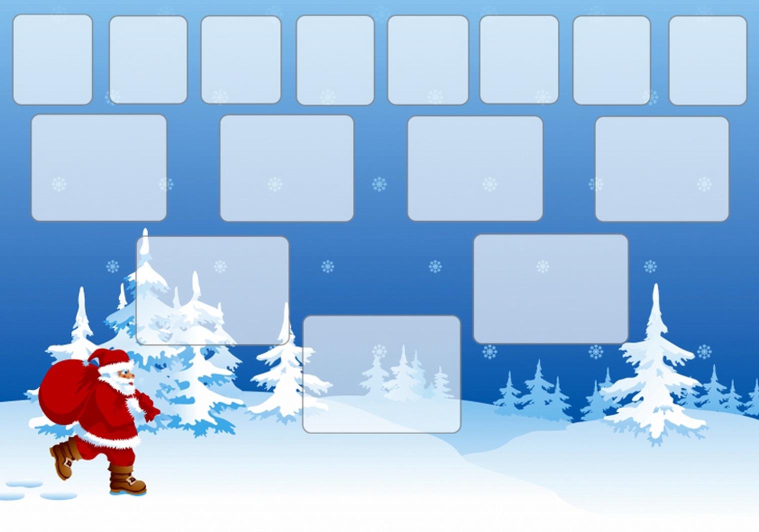Arbre illustré 5 générations Junior Noël