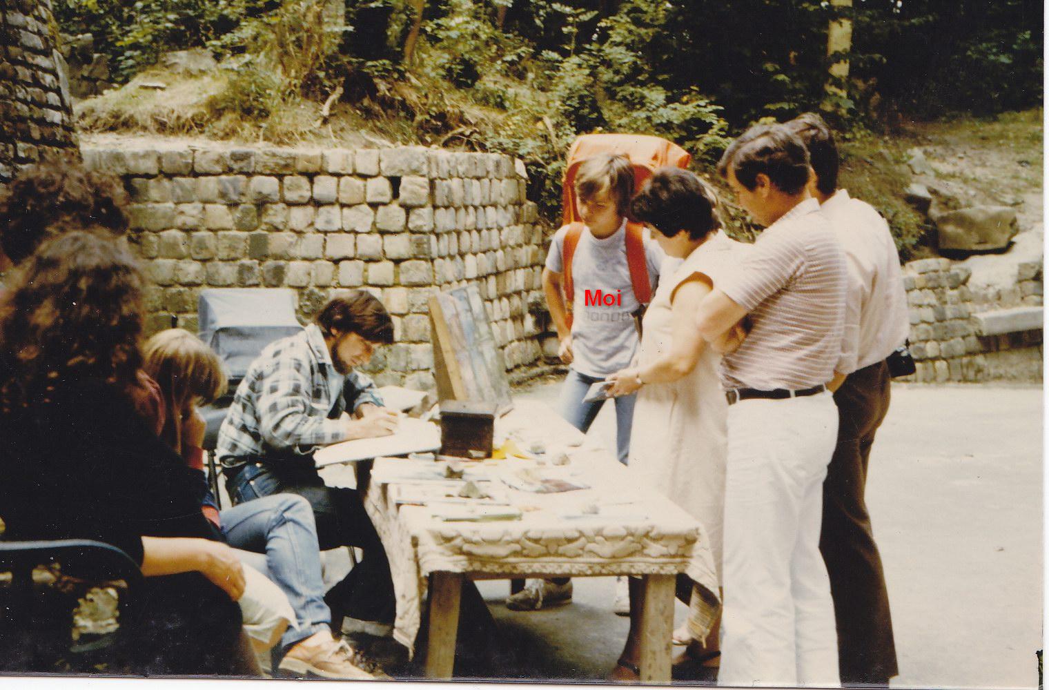 Château fort de Guise, été 1981