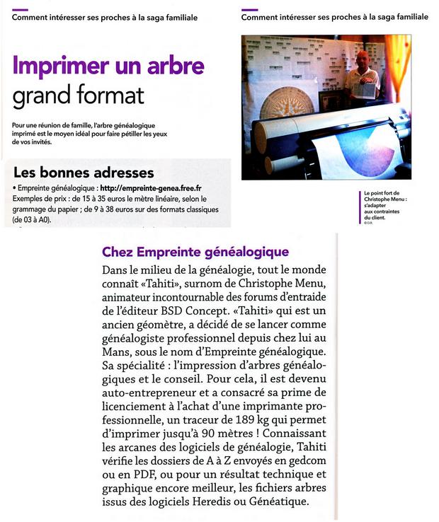 Le Revue Française de Généalogie - Hors-série n°49 - Comment transmettre votre généalogie